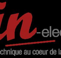 Logo In Elec Brumath, Strasbourg Alsace - Distribution, fabrication et montage de matériels électriques et électrotechniques