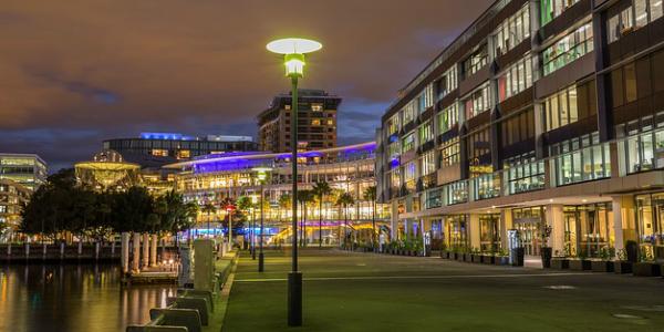 Eclairage urbain par In Elec - conception construction d'installations électriques professionnelles