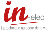 Logo In Elec Brumath, Strasbourg - Alsace Lorraine Franche Comté Grand Est - Distribution, conception,fabrication, câblage et montage d'armoires, bornes et coffrets électriques